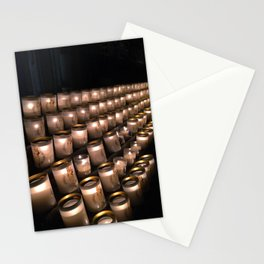 Notre Dame Candle Light Stationery Cards
