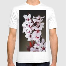 Signs of Spring 2 MEDIUM White Mens Fitted Tee