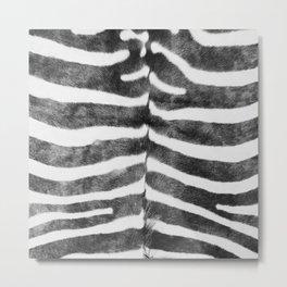 Striped Metal Print