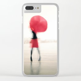 Once the storm is over Clear iPhone Case