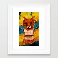le petit prince Framed Art Prints featuring Le Petit Prince Fan by Hopeazul