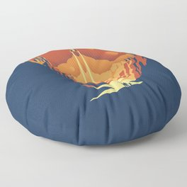 New World Floor Pillow