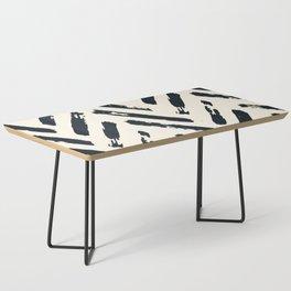 Retro Chevron Pattern 02 Coffee Table