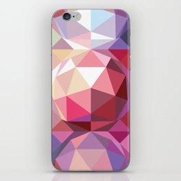 Geodesic dome pattern iPhone Skin
