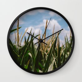 Summer Fields Wall Clock