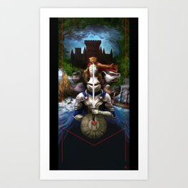 Mossflower by Brian Jacques Art Print