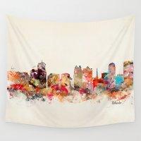 florida Wall Tapestries featuring orlando florida by bri.buckley