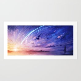 Your Name Art Print