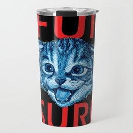 Fur Sure Kitty Travel Mug