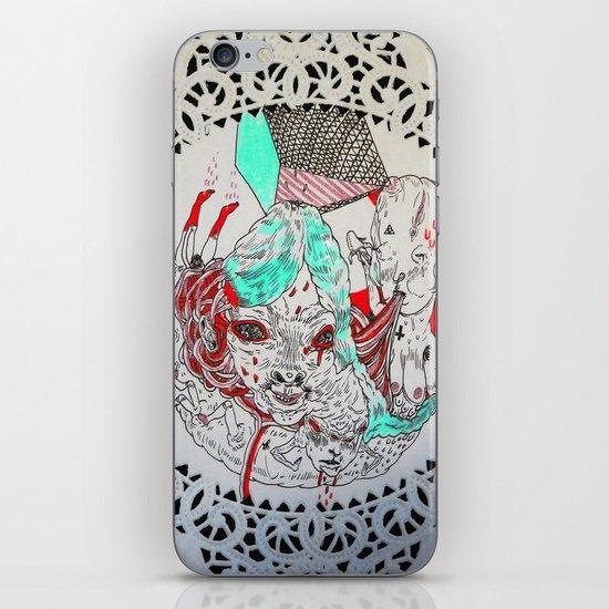 raw men iPhone & iPod Skin