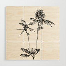 Clover Wood Wall Art