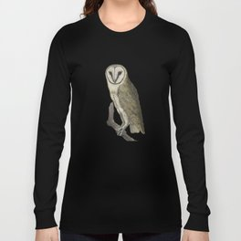 Owl in the Universe Long Sleeve T-shirt