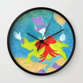 The Cryptid Carnival Wall Clock