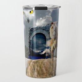 Horseplay For The Divine Travel Mug