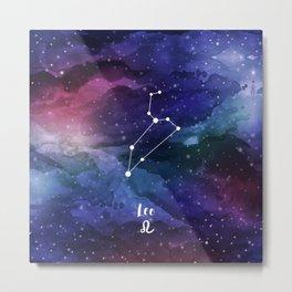 Leo Constellation Metal Print