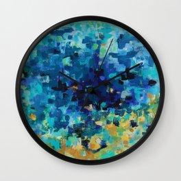 Deep Pool Wall Clock