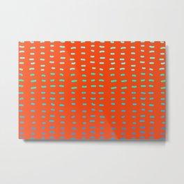 Ultra Orange Bang  Metal Print