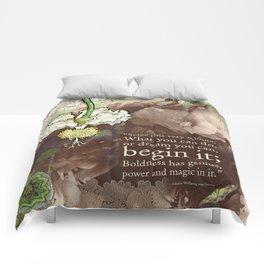 Begin it... Comforters