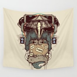 Transcendental Tourist Wall Tapestry