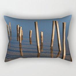 Walking Water Stilts Rectangular Pillow