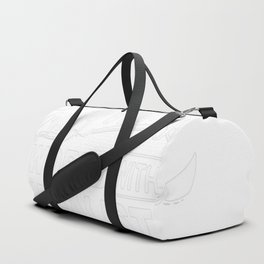 BOOK READER'S WORLD Duffle Bag