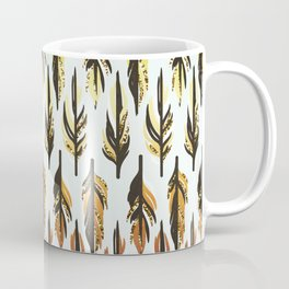 Boho Feather Pattern Coffee Mug