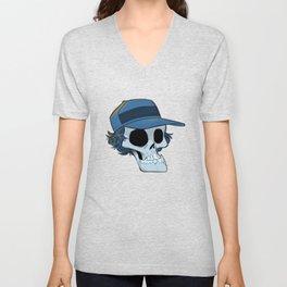 Elmer Skull in Color Unisex V-Neck