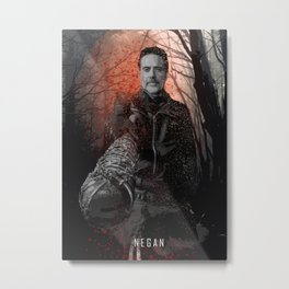 Negan - The Walking Dead Metal Print