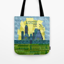 I love Austin, TX Tote Bag