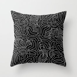 Helter Skelter Throw Pillow