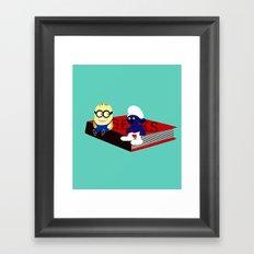 Geeks Framed Art Print