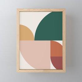 Abstract Geometric 11 Framed Mini Art Print