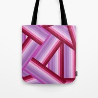 gradient Tote Bags featuring Gradient by Louise Machado