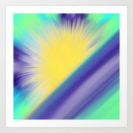 Sun on the Water Art Print