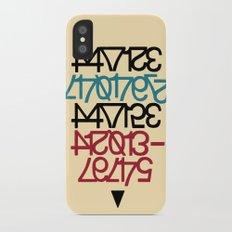 #problems=#money Slim Case iPhone X