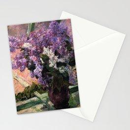 Mary Cassatt Lilacs in a Window 1880 Stationery Cards
