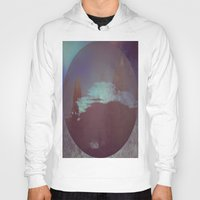 lunar Hoodies featuring Lunar Light by Jane Lacey Smith