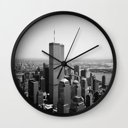World Trade Center - New York City Wall Clock