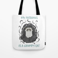 My Patronus is a GrumpyCat Tote Bag