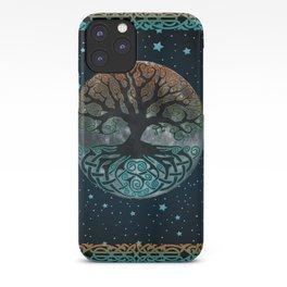 Autumn Esoteric Triple Moon iPhone Case