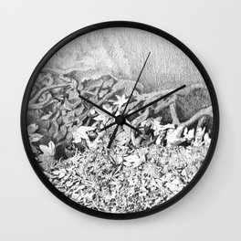 Transitions in nature part 1 Wall Clock