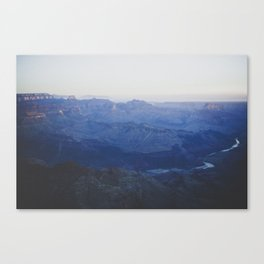 In The Dusk Canvas Print