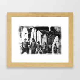 Dead Surfwise Framed Art Print