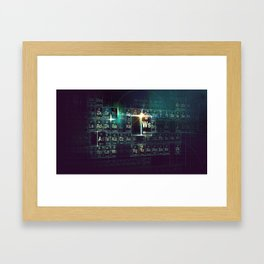 Jay-Z Periodic Table part 3 Framed Art Print