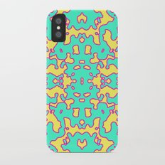 Electric Pattern iPhone X Slim Case
