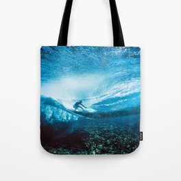 Wave Series Photograph No. 24 - Beneath the Surface Tote Bag