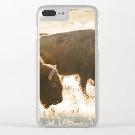 In the herd Clear iPhone Case