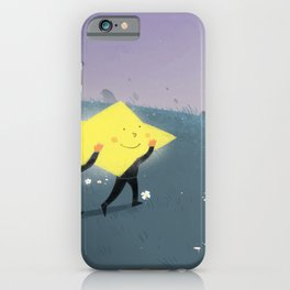 Carrying star iPhone Case