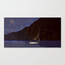 #11 Where No Man Has Gone Before - Sea of Stars Canvas Print