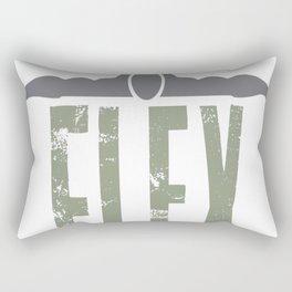 Flex Your Mind Rectangular Pillow